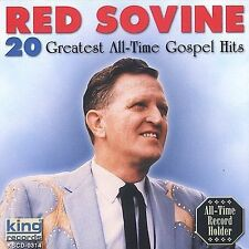 "RED SOVINE, CD ""20 GGREATEST ALL-TIME GOSPEL"" NEW SEALED"