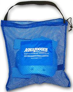 AquaJogger Mesh TOTE BAG Drawstring Gym Equipment Pool Rehab Workout LARGE AP50