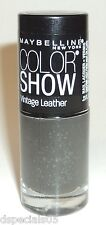 Maybelline Color Show LE Vintage Leather Nail Polish AGELESS OLIVE 870