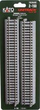Kato 2-150 HO Unitrack 246mm 9.75in Straight 4pcs