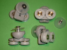 Shower Door Rollers, Wheels, Runners. 4 x SR20 for B&Q and others