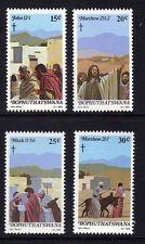 BOPHUTHATSWANA 1982 EASTER SET SG 88-91 MNH.