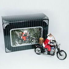 Harley Davidson Leader of the Pack Santa Claus 1999 Christmas Ornament GA0906-01