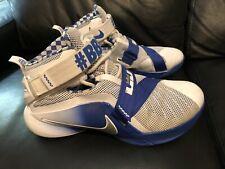 Nike Lebron Soldier IX 9 PRM Kentucky Wildcats Men's Size 9.5 (749490-104) #BBN