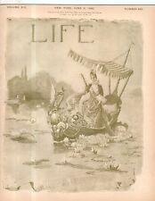 1892 Life June 2 - Yale rejects black applicants;Russian Jews persecuted;Kipling
