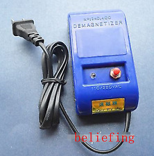 New 220V 110V Revised Table Tools Good And Stable Quality Watches Demagnetiser