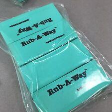 "Sanford Rub-A-Way Eraser Green Sealed 4/Pack 2.5""x1"""