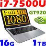 """ASUS X541U 7th-GEN i7-7500U 1.9KG 15.6"""" FULL HD 16GB-DDR4 1TB GeForce 920 Gaming"""