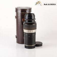 LEITZ Leica Elmar L39 135mm/F4.5 Lens LTM Germany #309