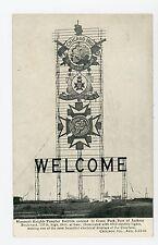 Knights Templar Conclave Sign—Antique CHICAGO Grant Park PC ca. 1910