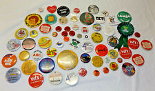 Big Lot of ASSORTED PINBACK BUTTONS pins