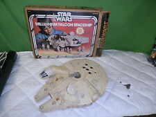 vintage star wars millennium falcon with box