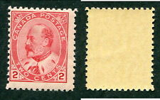 MNH Canada 2 Cent King Edward Stamp #90 (Lot #9327)