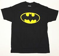 Licensed Batman Classic Logo - Men's X-Large Black T-Shirt  Graphic Tee  XL