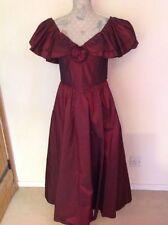 Eveningwear Taffeta 1980s Vintage Dresses for Women