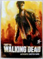 AMC The Walking Dead, Authentic Sketch Card, 2012