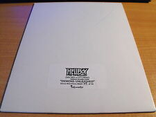 HELLBOY ANIMATED SWORDS OF STORMS, DEMONS UNLEASHED UNCUT SHEET 79/99