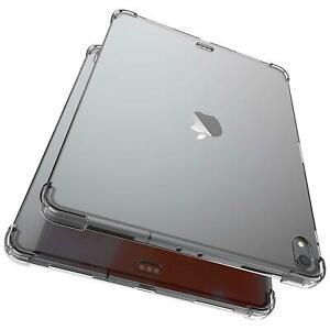 Étui de Protection Pour Apple IPAD Transparent TPU Silicone Sac Couverture Slim