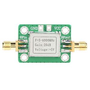 LNA Amplifier, 5M~6GHz Low Noise RF Broadband Signal Amplifier Power Amplifier