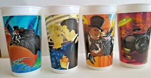 Lot of 4,MINT CONDITION, McDonald's/Batman Returns Cups - BRAND NEW!!