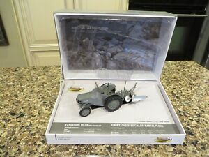1/32 High Detail Gray Massey TE-20 With Rumstad Plow By Universal Hobbies UH5364