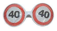 Occhiali 40 compleanno limite di velocità