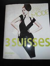 Catalogue LES 3 SUISSES ÉTÉ  Mode Vintage Fashion  ANNÉE 2010