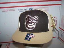 Baltimore Orioles  FITTED HAT/CAP  SIZE 7  AMERICAN NEEDLE-CLASSIC -NEW-MLB