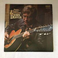 John Denver-Poems, Prayers And Promises- Vinyl LP (LSP 4490)