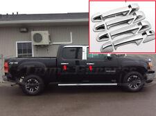 2007-2013 Chevy Silverado/GMC Sierra 4 Door Chrome Door Handle Covers no/PSKH