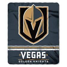 Las Vegas Golden Knights LV  NHL Hockey Fleece Throw Blanket NEW 50 x 60
