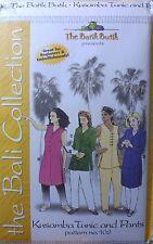 UNCUT Batik Butik 102 Kusamba Tunic and Pants, Bali Collection S M L XL XXL XXXL
