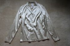 Rene Lezard size 6 silk/cotton blouse NWOT made in Germany 40.00