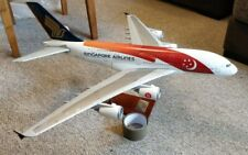 SINGAPORE AIRLINES Anniversary Airbus A380 Large Travel Agent Model 1:100 Scale