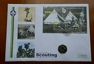 2007 50 Pence - Scouting in Large First Day Cover (160)