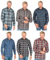 Mens Liam Check Flannel Shirt   Work   Casual   Long Sleeve