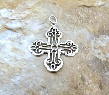 Sterling Silver MALTESE CROSS Charm/Pendant -0891