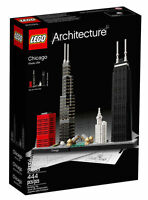 Lego Sets for Adults Architecture Models Chicago Skyline Building Set