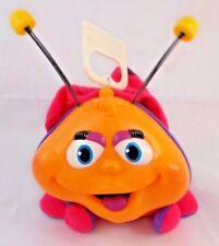 """Fisher Price Sounds Ladybug Bug #2481 Plush 4.5"""" to top of head 1994"""