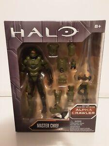 Halo Series Wave 1 Master Chief with BAF Alpha Crawler Mattel