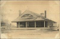 Simsbury CT Casino c1905 Postcard