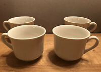 SET (4) Red Cliff Ironstone HEIRLOOM Fine China Tea Cup 2 7/8""
