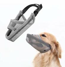 Crazy Felix Nylon Dog Muzzle for Small Medium Large Dogs Air Mesh Breathable .