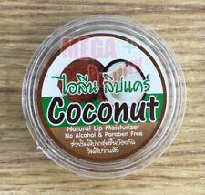 Natural Coconut Oil Lip Balm Treatment Smooth Moisture Gloss Lipstick 1 pcx10 g