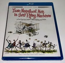 Those Magnificent Men In Their Flying Machines 1965 Limited Edition Bluray OOP