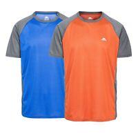 Trespass Talca Mens Short Sleeve Sports Top Antibacterial Top