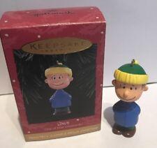 Hallmark Keepsake Ornament Peanuts Linus One New Bx-7