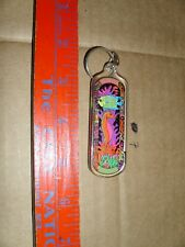 Keychain Florida Seahorse fish coral Vacation capitol world present gift double