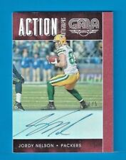 JORDY NELSON 2016 Panini Gala Action Autograph CRIMSON 1/5 Green Bay Packers SSP