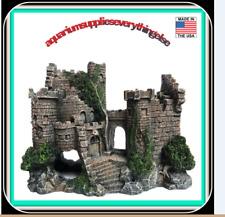 Aquarium Ornaments Resin Castle Decorations - Fish Tank Supplies Accessories,Eco